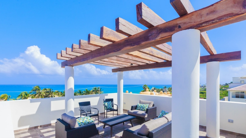 isla-mujeres-vacation-rental-private-home1 Rooftop