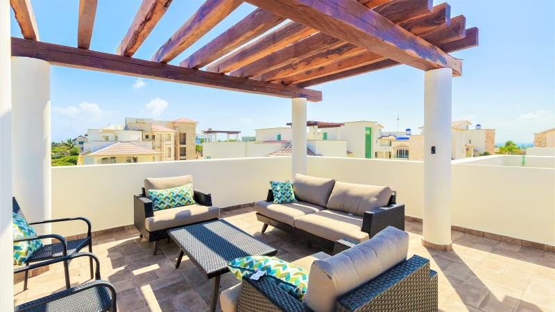 isla-mujeres-vacation-rental-private-home2 Rooftop