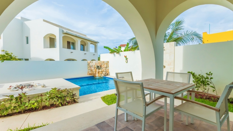 isla-mujeres-vacation-rental-private-home5na Patio